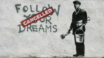 Obra de Banksy