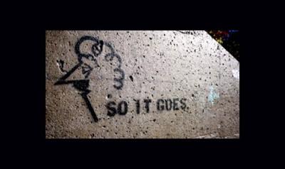 Vonnegut graffitti 2