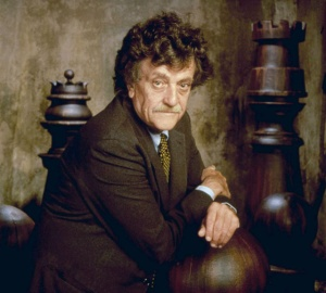 HARRISON BERGERON, author Kurt Vonnegut, 1995. (C) Cypress Films / Courtesy: Everett Collection